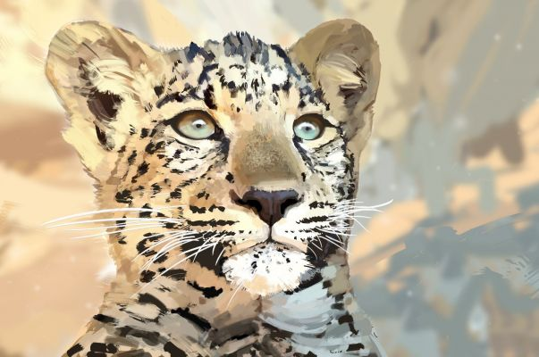 Realistic Leopard